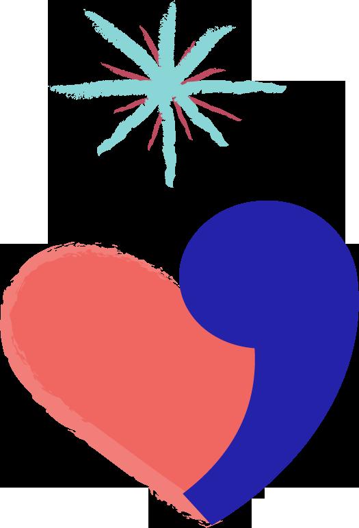 Inattendu - Couple - Coeur apostrophe